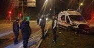 Ambulans ile otomobil çarpıştı: 5 yaralı!