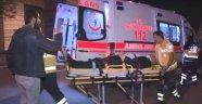 Ankara'da karşıt görüşlü partililer arasında bayrak kavgası: 2 yaralı