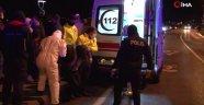 Araç denize uçtu sürücü kadını eski dalgıç kurtardı