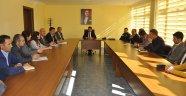 Arguvan'da okul sağlığı ve güvenliği toplantısı