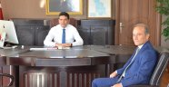 Başkan Kızıldaş'tan, Kaymakam'a hayırlı olsun ziyareti