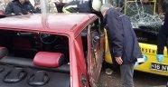 Bursa'da can pazarı, yolcu otobüsüyle kafa kafaya çarpıştı