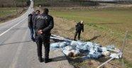 Büyükçekmece'de 60 çuval kimyasal atık bulundu