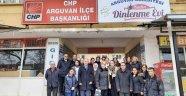 CHP'liler Başkan Kızıldaş başkanlığında toplandı