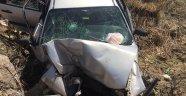 Çocuğun kullandığı otomobil şarampole yuvarlandı: 1 ölü, 2 yaralı