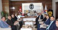 Diyarbakır Ticaret Borsası'ndan MTB'ye ziyaret