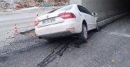 Erkenek Tüneli'nde kaza: 3 yaralı