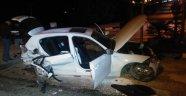 Gaziantep'te 2 araç çarpıştı:5 yaralı