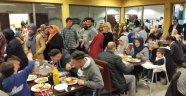 Gurbetçiler iftar programında bir araya geldi