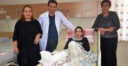 Gürcü hastalar sağlıklarına Malatya'da kavuştu