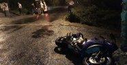 İki ayrı motosiklet kazasında sürücüler yaralandı