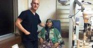 İki gözünde görme kaybı olan hasta sağlığına kavuştu