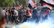 Irak'ın başkenti ve güneyi yeniden ayakta: 2 ölü