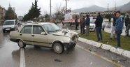 Isparta'da trafik kazası: 1 yaralı!