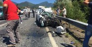 Karabük'te otomobille kamyon çarpıştı: 2 ölü 3 yaralı