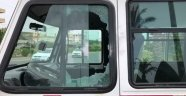 Kırmızı ışıkta bekleyen sürücüye pompalı saldırı