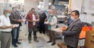 Kızılay'dan aşçılara teşekkür ziyareti