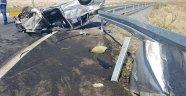 Konya'da otomobil attı: 1 ölü, 7 yaralı
