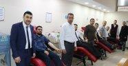 Malatya'da kan bağışına destek