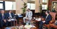 Malatya Ticaret Borsası'ndan Hisarcıklıoğlu'na ziyaret
