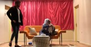 """""""O Neydi Gı"""" adlı tiyatro oyunu Akçadağ'da sahnelendi"""
