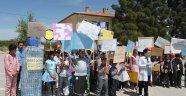 Öğrencilerden çevre konulu sosyal sorumluluk projesi