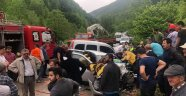 Ordu'da trafik kazası: 1 ölü 4 yaralı
