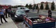 Otomobil çapa motoruna çarptı: 1 yaralı
