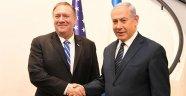 Pompeo Netanyahu ile görüştü