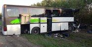 Rusya'da otobüs kazası: 2 ölü