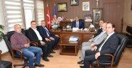 Sadıkoğlu Türk İş Malatya Temsilcisi Hikmet Kazgan'a ziyaret