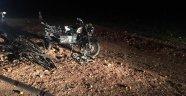 Sepetli motosiklet takla attı: 1 ölü