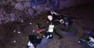 Ters şeride giren otomobil motosikletle çarpıştı: 1 ölü