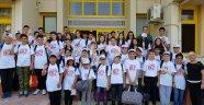 Tire'den 50 öğrenci Malatya'ya uğurlandı