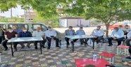 Tüfenkci'den mahalle ziyaretleri
