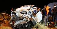 Tunceli'de tır ile hafif ticari araç çarpıştı: 4 ölü