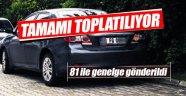 Türkiye genelinde bütün FG plakalar toplatılıyor