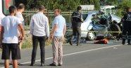 Uzunköprü'de trafik kazası: 3 ölü 3 yaralı