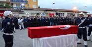 Vali Kamçı,Şehit Polislerin Cenaze Töreni Katıldı