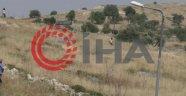 Yahudi yerleşimciler Filistin tarlalarını yakarken görüntülendi