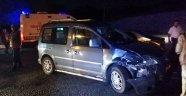 Zonguldak'ta iki otomobil çarpıştı: 2 yaralı