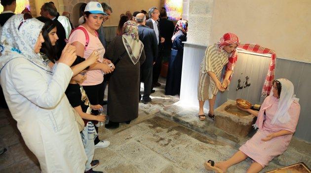 Tahtalı Hamam Müzesi'ne yoğun ilgi