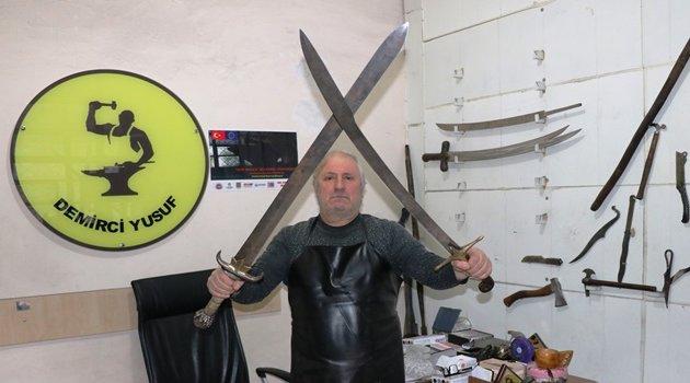 Tarihi diziler kılıçlara ilgiyi arttırdı