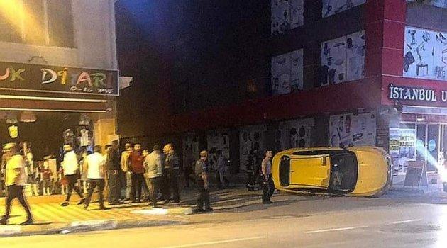 Tokat'taki kavgada 7 iş yeri 3 otomobil zarar gördü