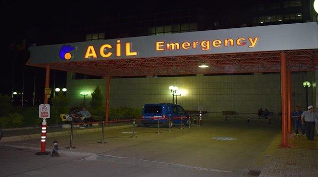 Trafik kazasında 2 kişi ağır yaralandı