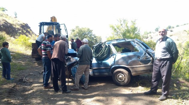 Trafik kazasında yaralanan kadın hayatını kaybetti