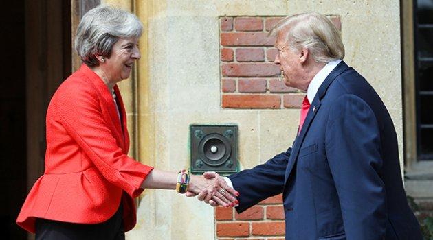 Trump'tan Brexit açıklaması: 'Theresa May beni dinlemedi'