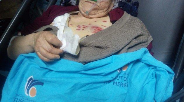 Tüfekle vurulan kadın ağır yaralandı