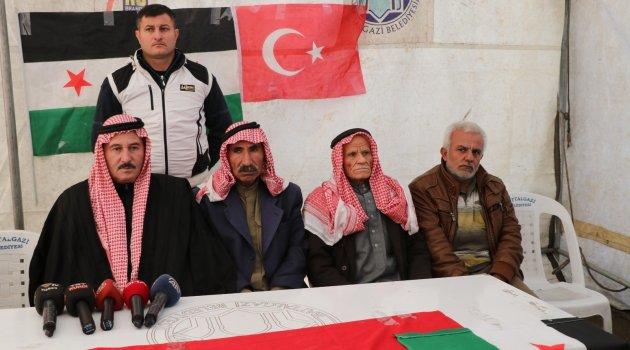 """""""Türk milleti bize çok yardım etti"""""""