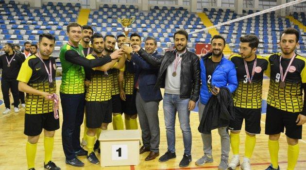 Türkiye Öğretmenler Kupası Doğu Anadolu Bölge birincileri belli oldu